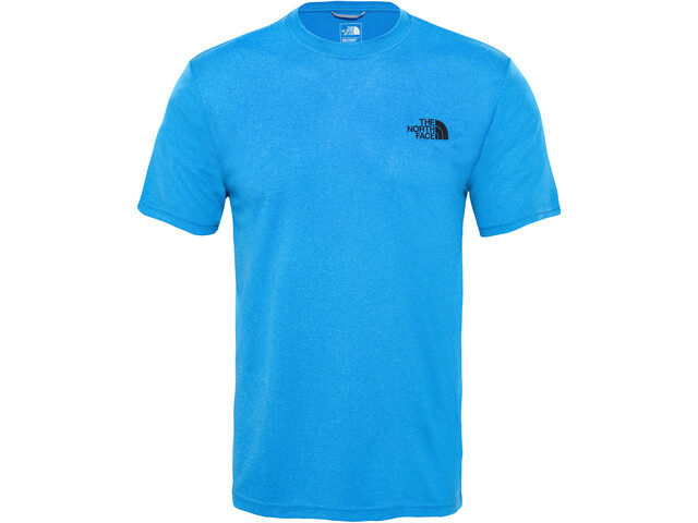 The North Face Reaxion Ampere T-shirt à col ras-du-cou Homme, bomber blue heather